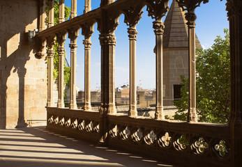 Castle-Palace of Olite, Navarra, Spain
