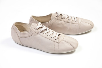 Sport casual shoe on white background