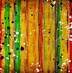 Color lines on grunge