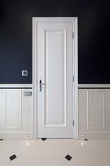 Interior of designer bathroom