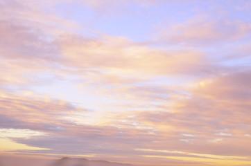 cielo rojizo