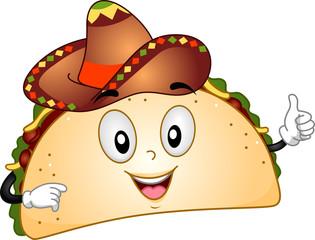 Taco Mascot