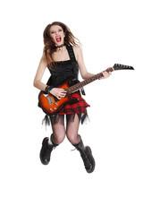 Teen rock star