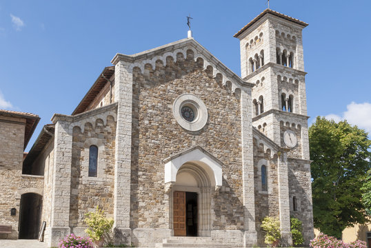 Church of St. Savior in Castellina in Chianti, Tuscany