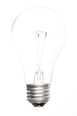 Lit up lightbulb