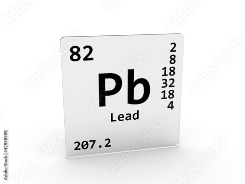 lead symbol pb element of the periodic table - Periodic Table Symbol Pb