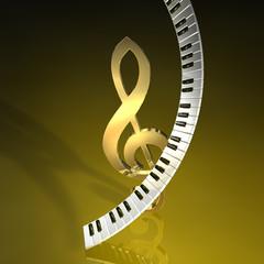 Tastatur Violin B