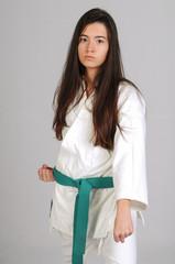 Martial arts girl