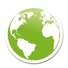 planète terre verte