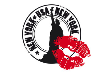 NEW YORK_KISS
