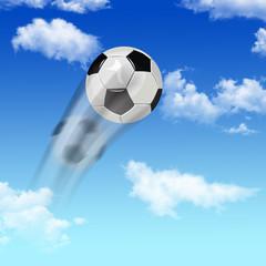 Ball in sky