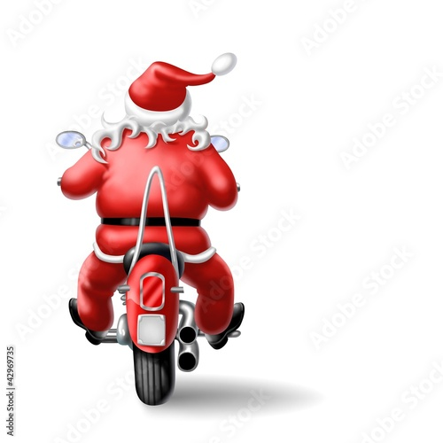 Immagini Babbo Natale In Moto.Babbo Natale In Moto Stock Photo And Royalty Free Images On