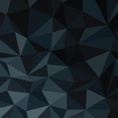 Dark Blue Abstract Diamond Pattern Background. Vector Illustrati