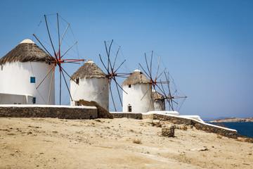 Myconos wind mill