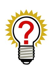 Question in a lightbulb