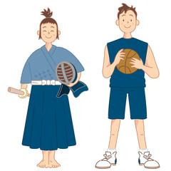 剣道⠅バスケットボール
