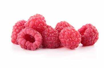 isolated raspberry
