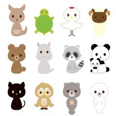 動物・鳥 12種類