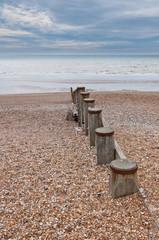 Stony beach