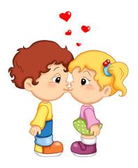 tenero bacio