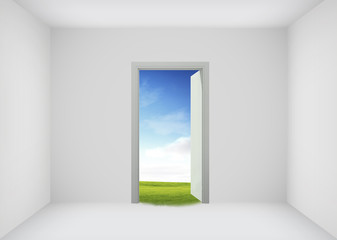 Open door to the new world, for environmental and business idea