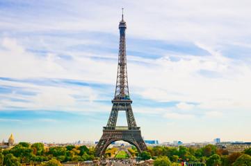 Paris, the beautiful Eiffel Tower