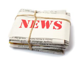 gros plan sur des journaux news nouvelles