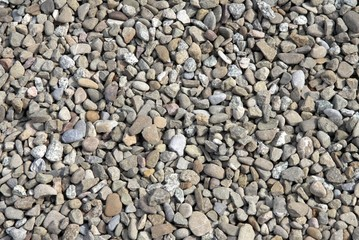 various gravel as mineral,natural background