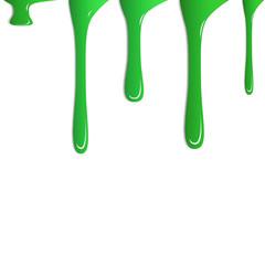 Farbspritzer grün