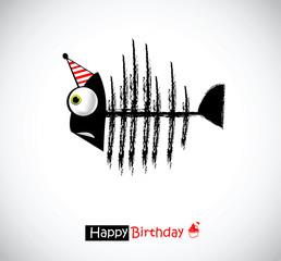Happy Birthday Cards fish