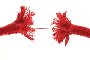 Rotes Seil