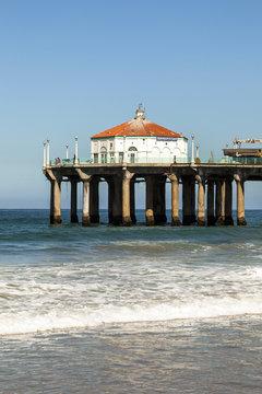 beautiful Hermosa Beach in California