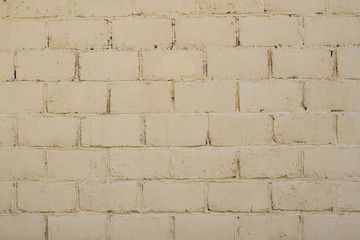Beige brick wall -  use as  background