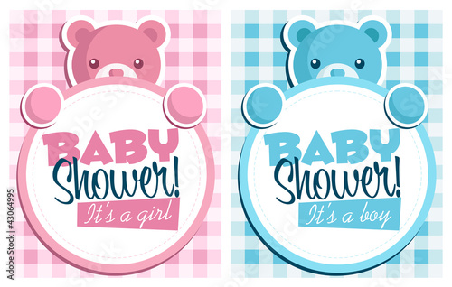Baby shower invitation cards stock image and royalty free vector baby shower invitation cards stopboris Image collections