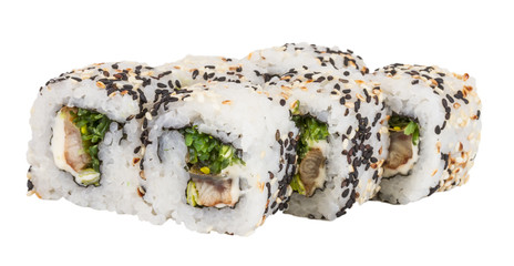 Japanese traditional Cuisine - Maki Roll with Nori , Cream Chees