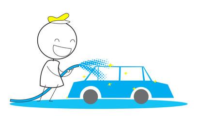 Man Car Wash