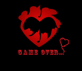Heart. Eps8 vector