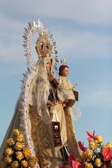Virgen del Carmen, paso, Punta del Moral, Huelva, fiestas