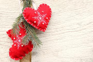 Bilder und videos suchen stoffherz for Weihnachtlicher hintergrund