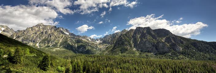 panorama Tatr wysokich