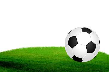 Ball on grass field