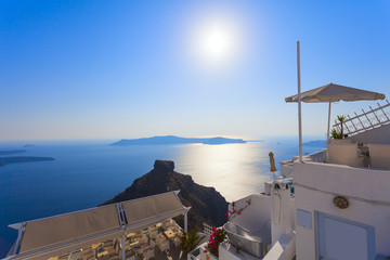 Imerovigli village,santorini island,greece