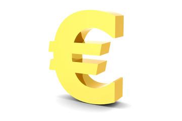 Euro symbol - 3D