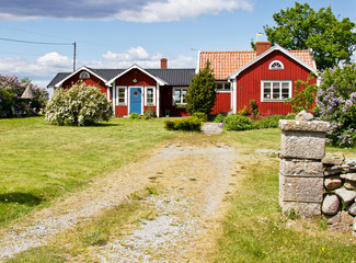 House and environment in Sweden.