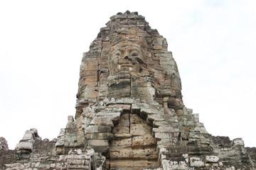 Khmer art at Bayon Prasat, Angkor Thom