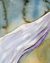 malowane akwarelowe tło