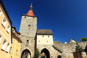 Nürnberger Tor in Neustadt Aisch-Bayern-Mittelfranken