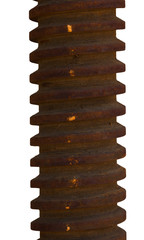Rusty screw spindle