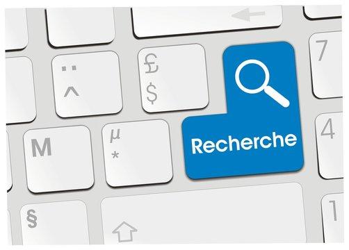 clavier recherche