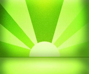 Green Rays Room
